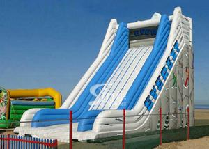 China 9 meters high commercial adult giant everest inflatable slide for sale price on sale