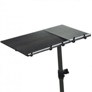 Quality Swivel Adjule Laptop Computer Desk 15mm Pb Pvc Table For Recliner