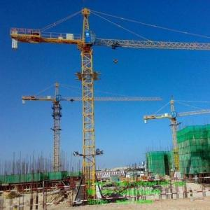 China Hongda Tielishi Different Types of Hammerhead Tower Cranes QTZ  Series on sale