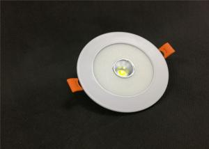 China Two Color 6W+6W COB Led Downlight Recessed Round Ceiling CRI 70 For Restaurants on sale