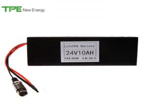 China 3.48kg Non Memory Electric Bike Battery 24v 10Ah 18650 Battery Pack on sale