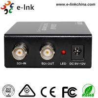 SDI to AV Scaler CCTV Fiber Optic Converter 1 Port BNC SD / HD / 3G - SDI + 3 port CVBS 3G