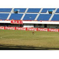 Anti - UV Ray Stadium LED Panel, Football LED Perimeter Advertising Boards P10