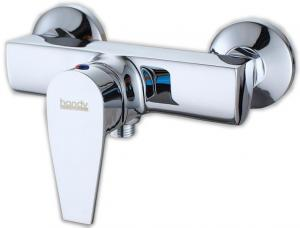 China Square Brass Bathroom Sink Faucet , Two hole Contemporary Bath Tub Taps on sale