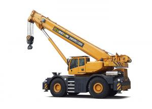 China 150 ton Heavy Hydraulic Mobile Crane Rigid Suspension SWORC1500 on sale
