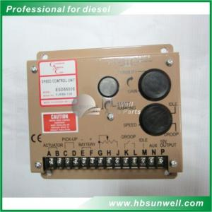 China Diesel Engine Generator Speed Controller Governor 5500E Speed Control Unit ESD5500E on sale