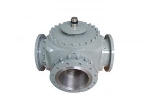 China Cast Steel Stainless Steel 3 Way Industrial Ball Valves with flange end on sale