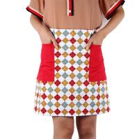 Colorful Personalised Kitchen Aprons , Home Custom Cooking Aprons 45 * 72cm