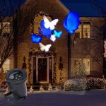 4 Pattern Moving LED Laser Light for Landscape House Outdoor Christmas Garden