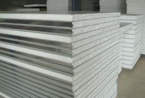 China EPS Prefabricated steel structure sandwich roofing and wall panles on sale