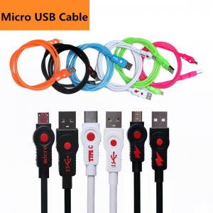 China 1m 3ft cell phone usb charging cable for v8 micro data cable work with HTC one s4 s3 s5 galaxy note3 usb cable on sale