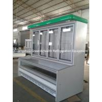 China Supermarket Combination Display Freezer Showcas High - Density on sale