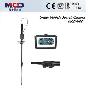 China 12 Led Camera Under Vehicle Search Mirrors With Light Source , 120 Degrees Angle Clearly supplier
