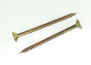 China Sharp Point Fastener Screws Pozi Recess Flat Head Stainless Steel Chipboard Screws on sale