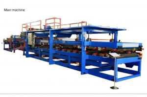 China 30KW EPS Sandwich Panel Machine Composite Wall Board Moulding Roof Panel Production Line on sale