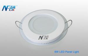 China AC 120v 6watt ¢100*40(H) Mm LED Panel Lighting For School , 400lm LED on sale