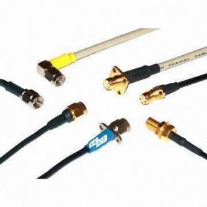China mini câble coaxial de liaison de 0.81mm rf avec la tresse simple Shielde de 50 ohms on sale