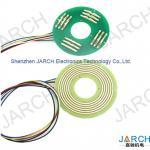 High speed 360° Rotating Electric PCB Pancake slip ring ultra thin 6mm pancace slipring 12 circuits