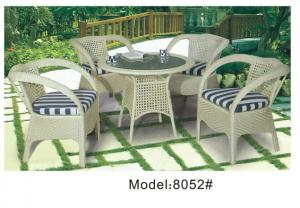 China 4 wicker rattan armchairs -8052 on sale