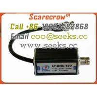 Scarecrow™ BNC-12V monitoring system, coaxial system computer to avoid surge of lightning