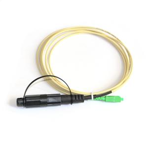 China Optitap SC Fiber Optic Patch Cord Simplex 3.0-5.0mm Cable 0.30dB Insertion Loss on sale