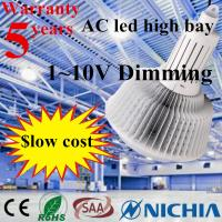 China Linear IC Integrated Driver Dimmable 160W LED High Bay Nichia 3030 LED Inside on sale