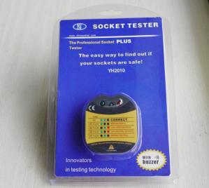 China 230V / 100V Socket Tester with IEC1010-1 CAT II 600V International Safety Standard on sale