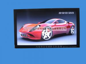 China 19network digital signage player with wifi, 3G,Designed with brushed metal and hard glass on sale
