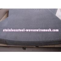 Plain Crimped Electro Galvanized Mining Screen Mesh Square Aperture For Rust - Prevention