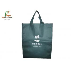 China Foldable Tote Non Woven Shopping Bag Lightweight With Printed Logo Custom Size on sale