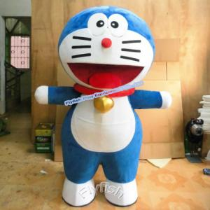 China doraemon costume mascot costume Cosplay cartoon costume on sale