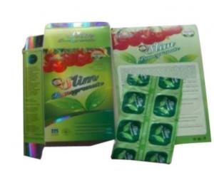 China Effective Slim Pomegranate Slim 100% Natural Weight Loss Capsules on sale