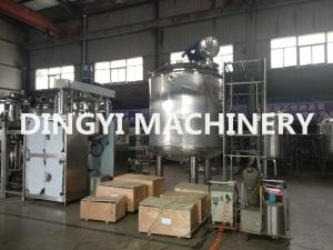 China PLC Control Jacketed Stainless Steel Mixing Tanks380V 220V For Food / Chemical on sale
