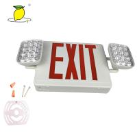China Power Failure Use LED Twin Spot Emergency Lights / Emergency Escape Lighting on sale