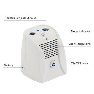 Quality Ozone Ionic Double Function Household Electrical Appliances Neutralizes Odors for sale