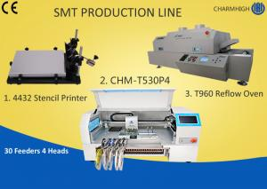 China Manual SMT Production Line Solder Paste Stencil Printer , PCB Assembly Line Batch production on sale