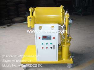 China High Efficient Vacuum Single Stage Dielectric Oil Purifier | dielectric oil filtering unit on sale