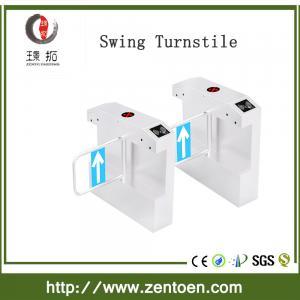 China RFID security turnstile gate swing turnstile/ access control pedestrian swing turnstile on sale