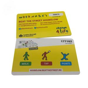 China Classic 1k  RFID Smart Card For Access Control 13.56 Mhz Rfid Tag on sale