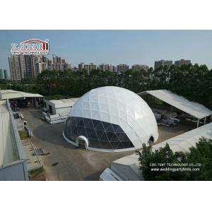China Half Sphere Outdoor Event Tents with High Reinforced Aluminum 6061/T6 Frame supplier