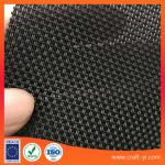 black color 2X1 Textilene mesh fabric for outdoor garden chair or table in PVC coated