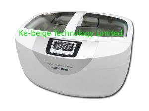 China 2.5L Heated Ultrasonic Jewelry Cleaner For Fruits / Tableware Supersonic Cleaning on sale