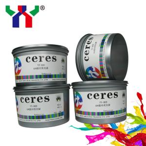 China Hot Sale Ceres YT-802 Fluorescent Offset Printing Ink Green on sale