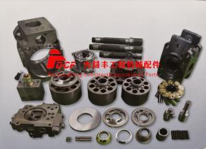China KAWASAKI K3V112DT Hydraulic Pump Parts, EC210, R200 ,SK200-1  Excacator Hydraulic Piston Pump on sale
