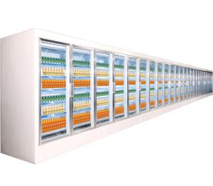 China Professional Supermarket Projects Refrigeration Equipments For Fruits / Vegetable on sale