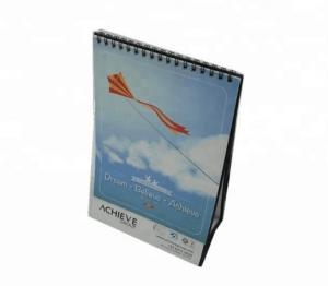 China Spiral Promotional Pocket Calendars Foldable Type For Business Advertising on sale