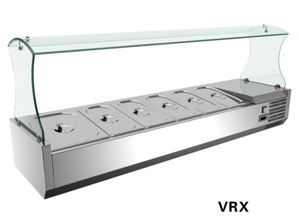 Beau Commercial Salad Bar Equipment, Refrigerated Salad Bar Fridge 44L  VRX1500/330 Images