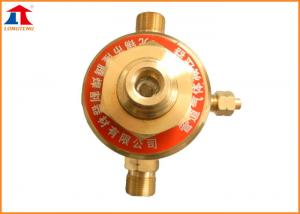 China Propane Single Stage Gas Cylinder Regulator With Sintered Bronze Filter Screen on sale