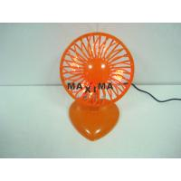 5V 2W Loptop Portable Mini USB Desk Fan with 7 Red Led for Office, School