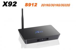 China X92 Amlogic S912 Android 7.1 TV Box 2GB/3GB 16GB/32GB Octa Core KD Player Fully Loaded 5G Wifi X92 Smart Set Top Box on sale